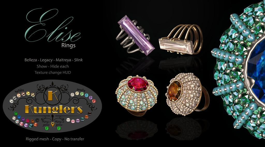 KUNGLERS – Elise rings vendor