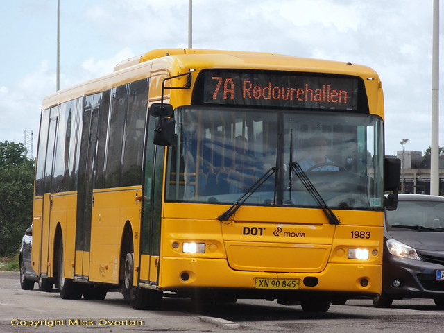 Summer time table substitute surprise 2009 Volvo B7RLE ARRIVA 1983 on the 7A