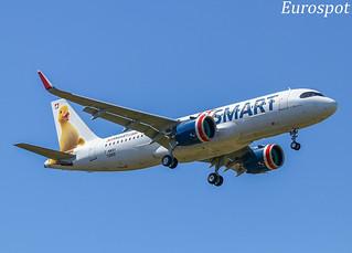 F-WWDY Airbus A320 Neo Jet Smart