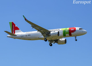 F-WWIF Airbus A320 Neo Air Portugal - First flight