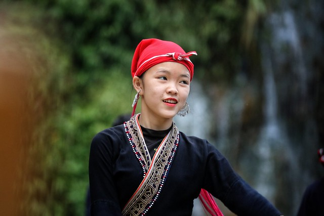 Ballet dancer in Sapa