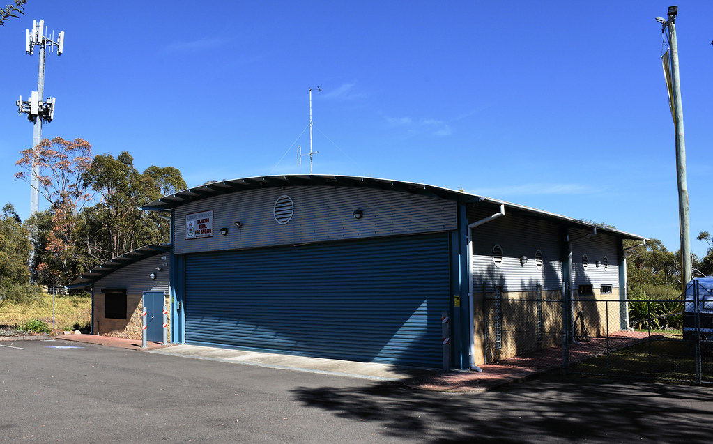 Rural Fire Brigade, Illawong, Sydney, NSW.