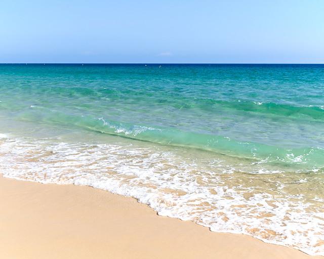 Aguas de la playa de Bolonia