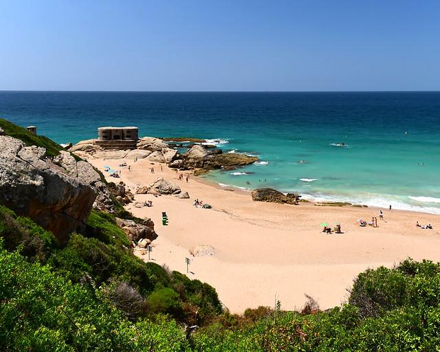 Búnker de la playa de Atlanterra, en Zahara de los Atunes