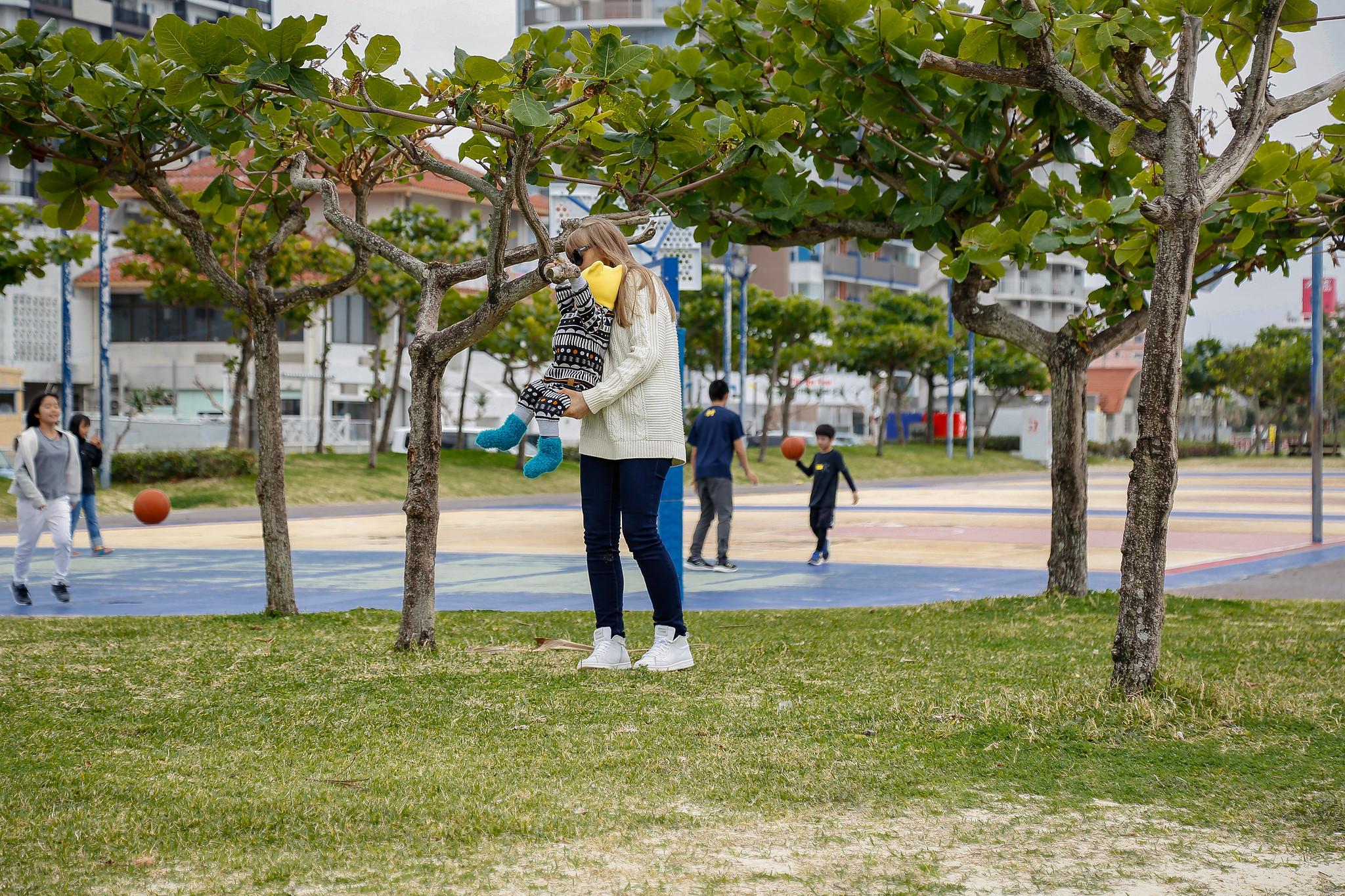 В Японию с младенцем. Неожиданные новогодние каникулы на Окинаве.