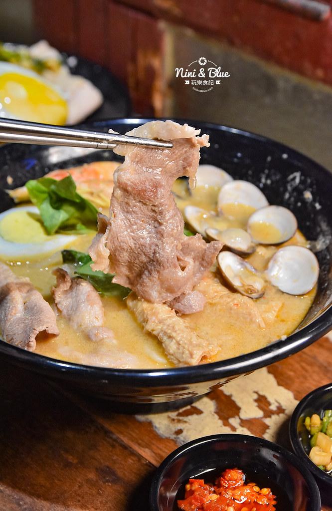 寶貝老闆新加坡叻沙麵 台中大遠百美食 菜單05