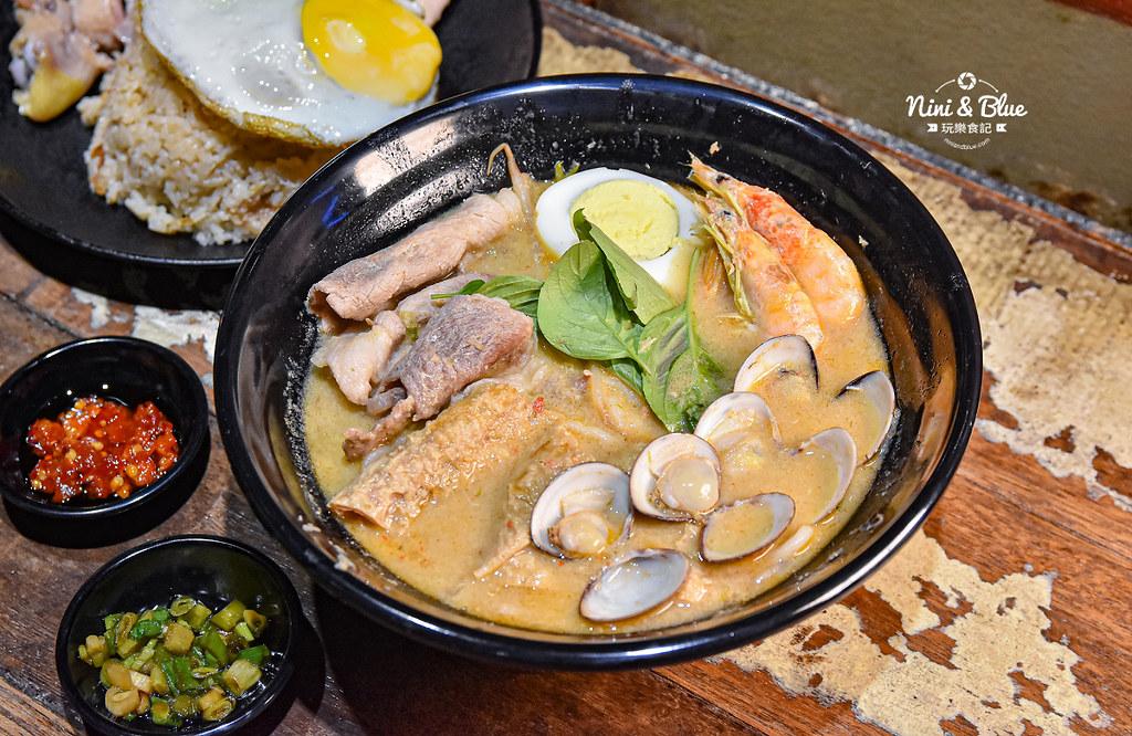 寶貝老闆新加坡叻沙麵 台中大遠百美食 菜單03