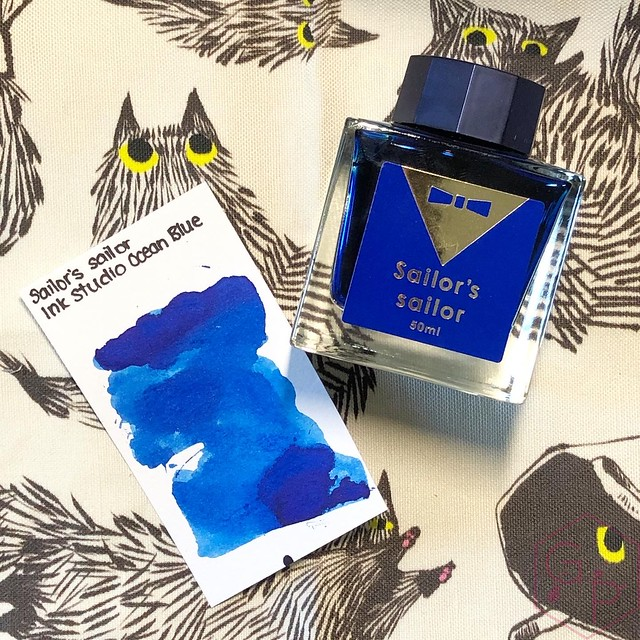 Sailor's Sailor Ocean Blue Ink 15
