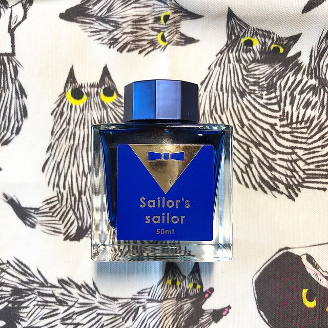 Sailor's Sailor Ocean Blue Ink 3