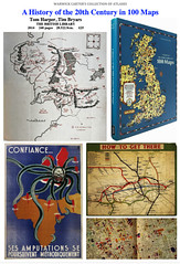 A History of the 20th Century in 100 Maps by Tom Harper & Tim Bryars - THE BRITISH LIBRARY