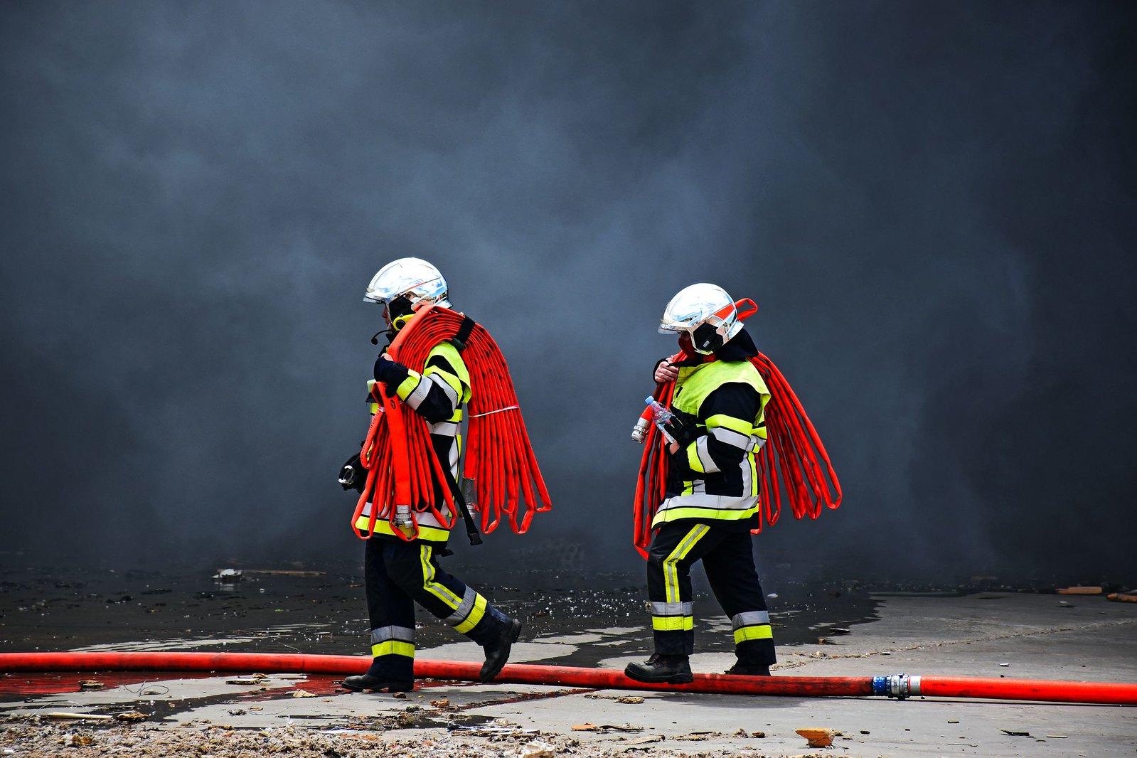 Les Pompiers13 mobilisés sur plusieurs départs de feu ce week-end