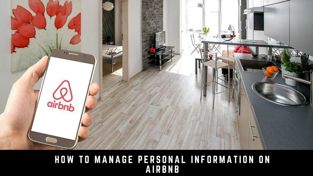 How to manage personal information on Airbnb