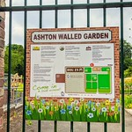 Ashton Walled Garden notice