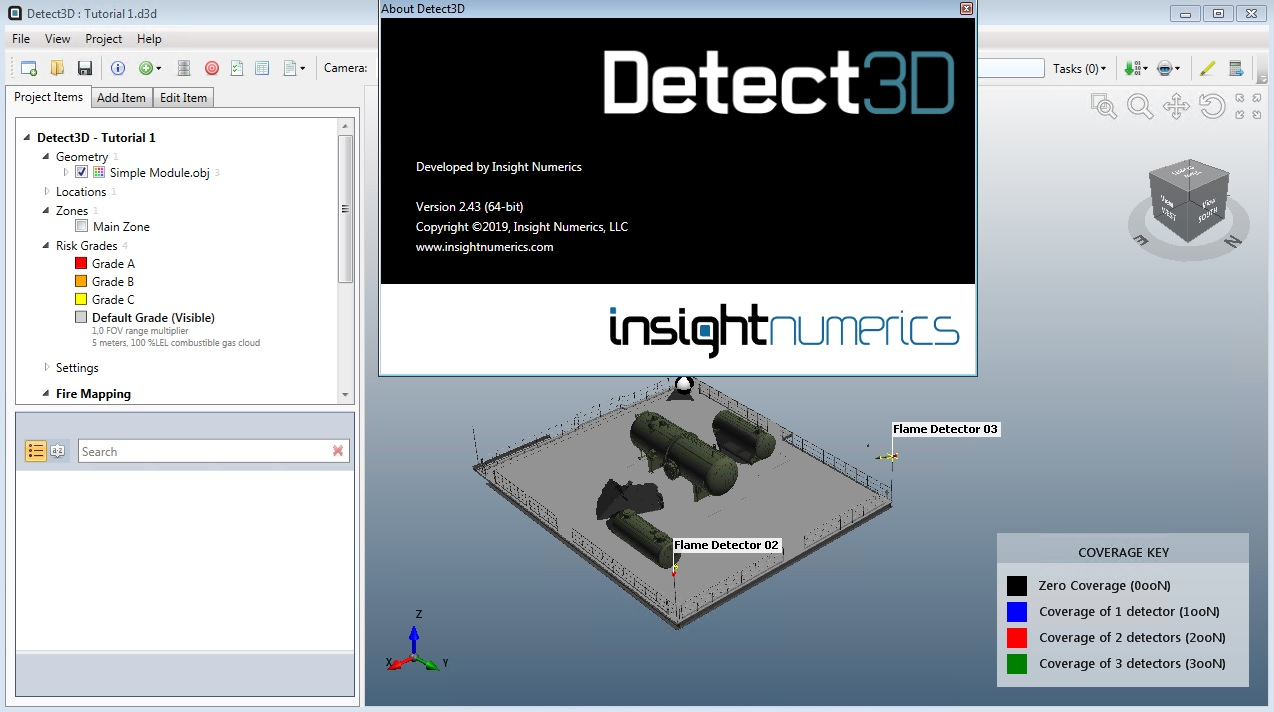 Working with Insight Numerics Detect3D 2.43 full