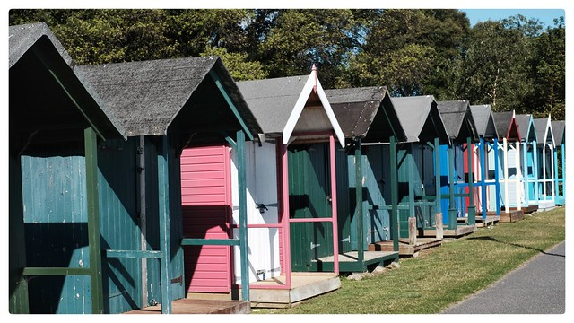 Appley beach huts