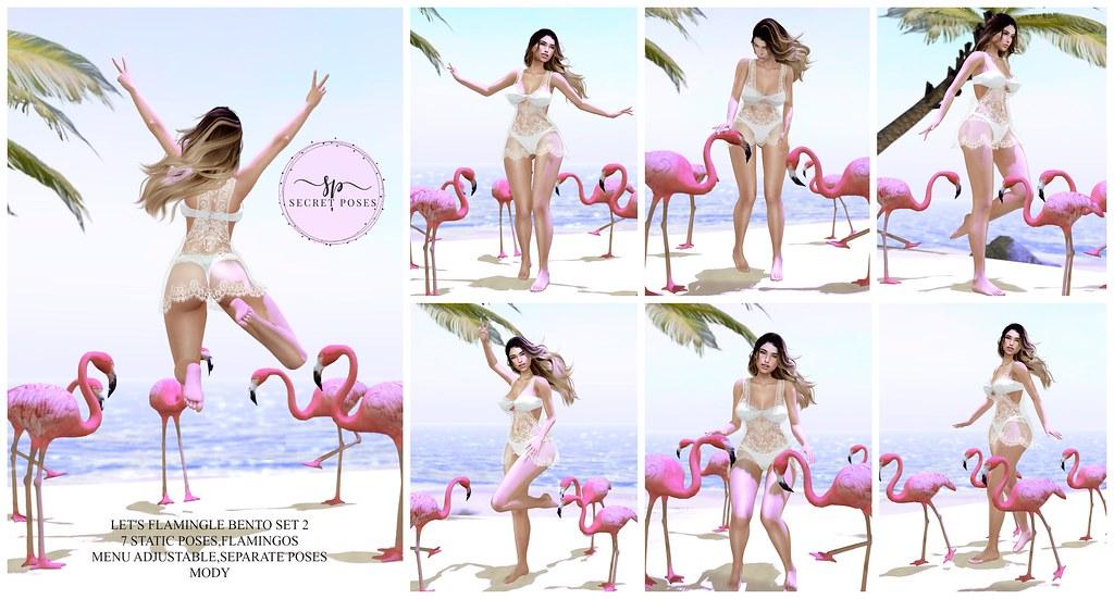 Secret Poses-Let's Flamingle 2