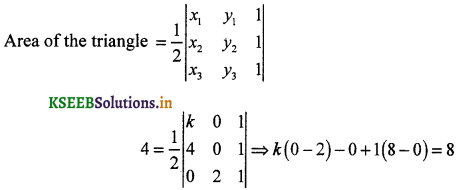 2nd PUC Maths Question Bank Chapter 4 Determinant 11