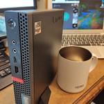 """小型の """"ThinkCentre M75q-1 Tiny"""" を購入、PCゲームを始めたくなった"""