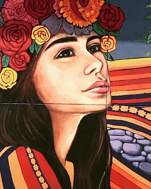 Mural of Girl - 1