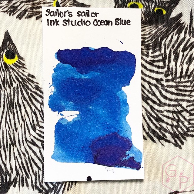 Sailor's Sailor Ocean Blue Ink 4