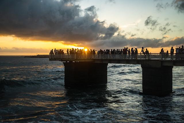 Galle Face Pier