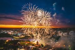 Fireworks | Kaunas aerial #188/365