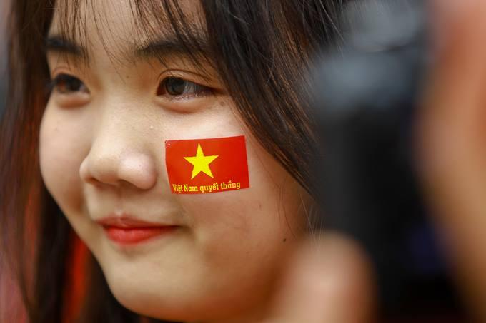 cổ động viên bóng đá Việt Nam