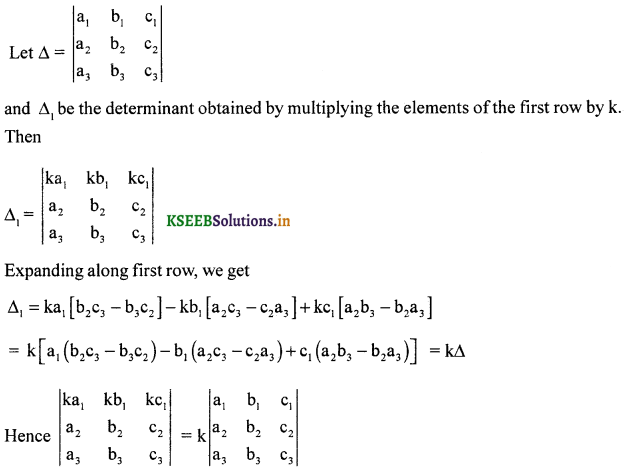 2nd PUC Maths Question Bank Chapter 4 Determinant 19