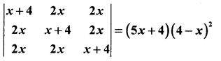 2nd PUC Maths Question Bank Chapter 4 Determinant 26