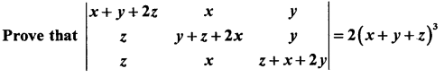 2nd PUC Maths Question Bank Chapter 4 Determinant 34