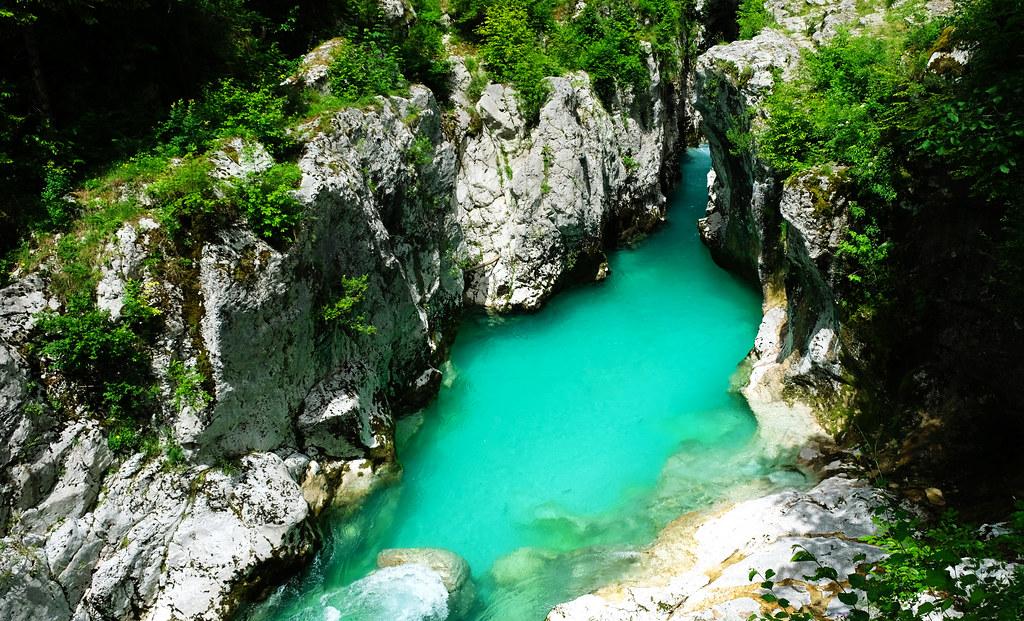 Velika Korita, Soča Valley, Slovenia