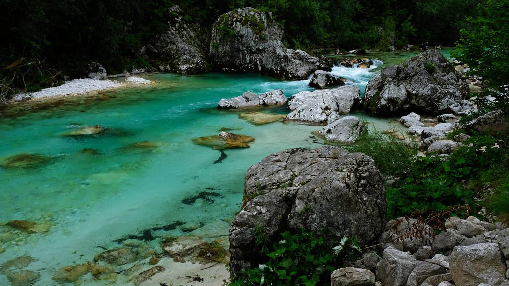 Soča River Trail, Slovenia