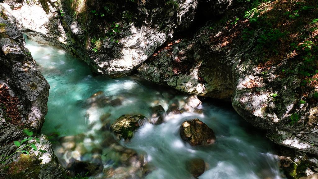 Možnica / Nemčlja Gorges, Soča Valley, Slovenia