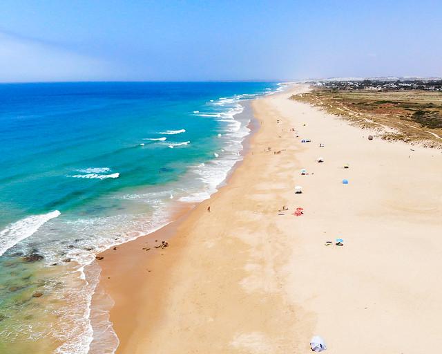 Playa de la Mangueta, de las playas más desconocidas de Cádiz