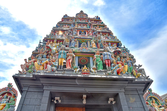 Hindu Temple, Little India, Singapore