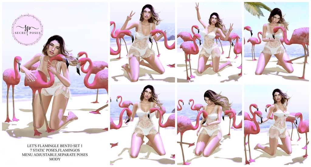 Secret Poses-Let's Flamingle 1