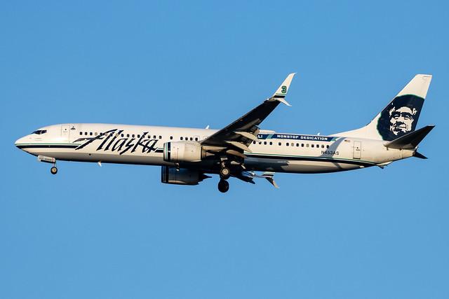Alaska Airlines 737-800W N453AS