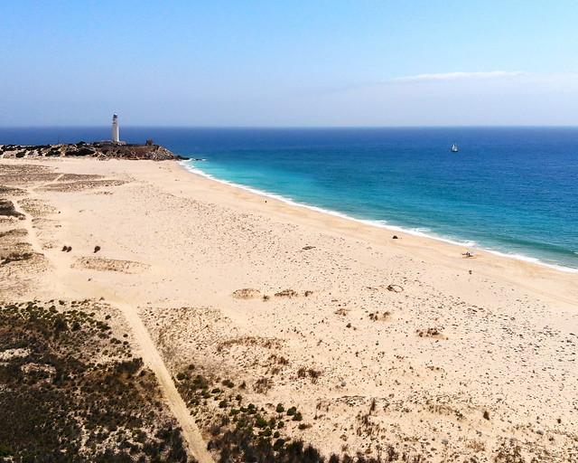 Playa de Zahora desde arriba