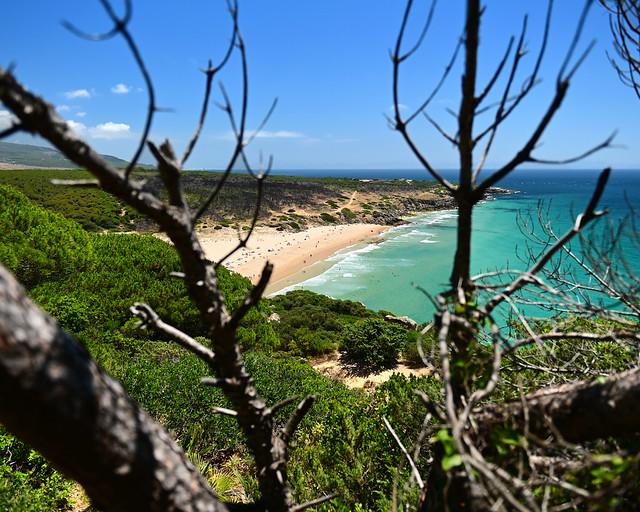 Playa del Cañuelo, de las playas más espectaculares de Cádiz