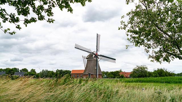 De Groote Polder (molen) (1783), Slochteren, Midden-Groningen (municipality), Groningen (province), The Netherlands