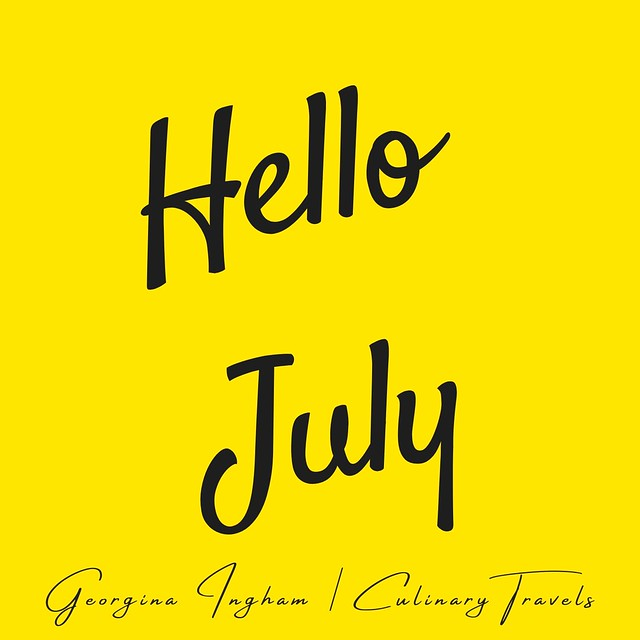 Georgina Ingham | Culinary Travels Photograph - Hello July, more like autumn than summer with all the dull grey, wet days here.
