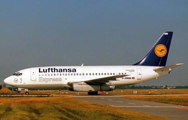 Lufthansa Express Boeing 737-200 D-ABMB