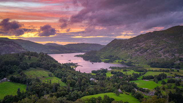 Sunset on Ullswater