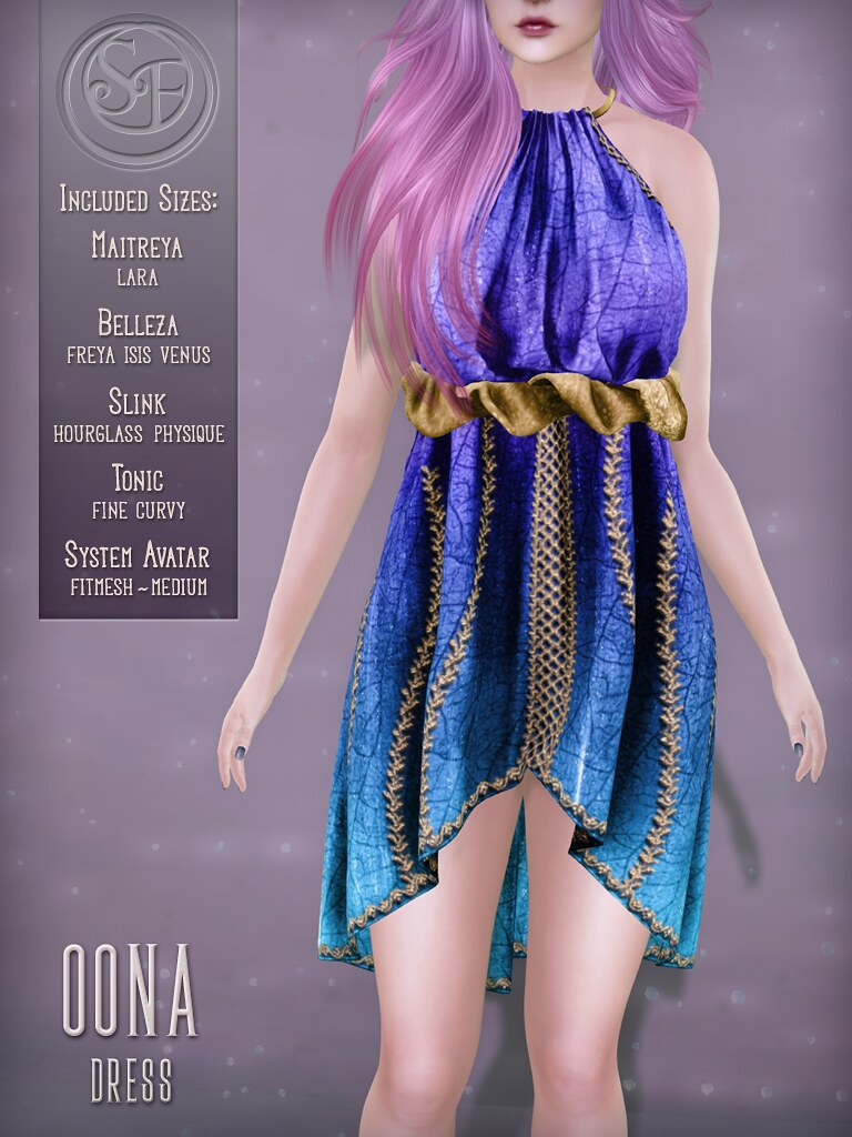 Senzafine . Oona Dress Poster
