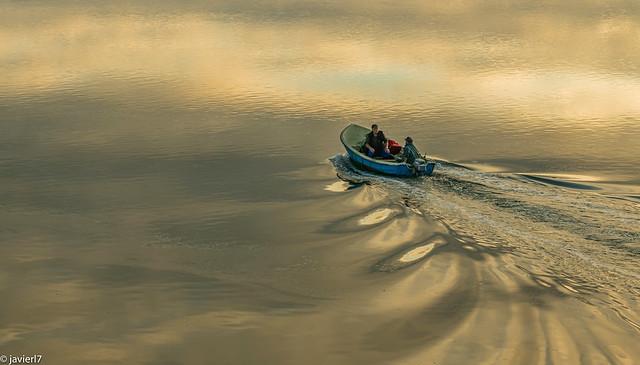 Peinaban la mar...desde niños....