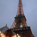 La tour Eiffel le soir