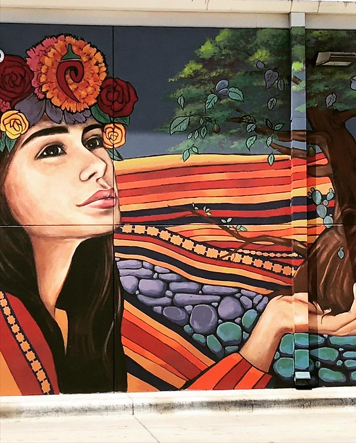 Mural of Girl - 2