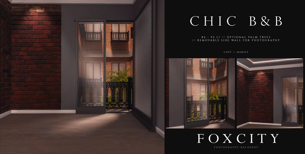 FOXCITY. Photo Booth – Chic B&B
