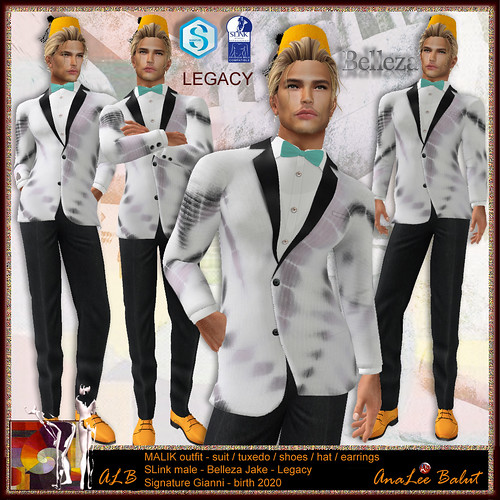 ALB MALIK outfit - SLink Belleza Signature Legacy