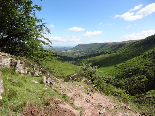 Olchon Valley and Hatterall Ridge | by Mary Loosemore